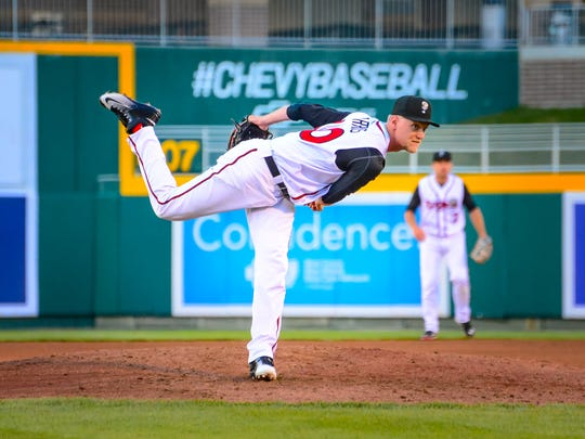 Cheer on the Lansing Lugnuts at the Cooley Law School Stadium this summer.