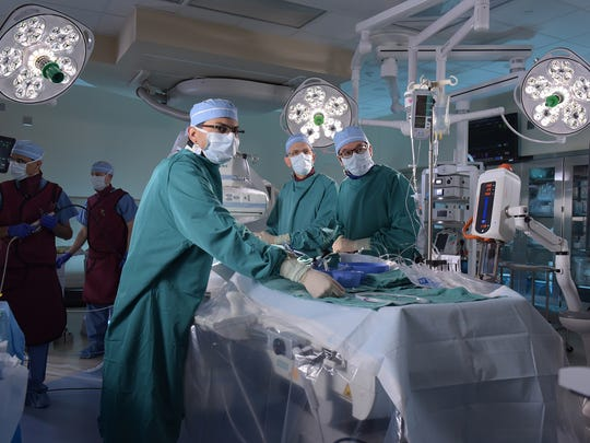 In August 2012, the heart team at St. Joseph Mercy Ann Arbor began performing transcatheter aortic valve replacement, or TAVR, procedures.