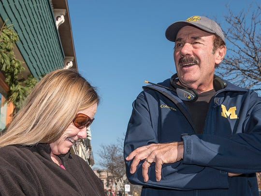 Kathy Rambo and Mike Dalessandro in Plymouth.