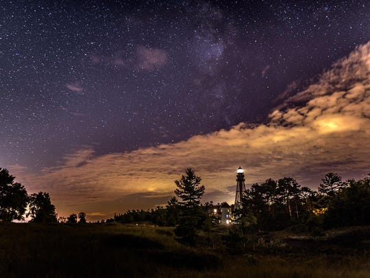 """Night at Rawley Point,"" by Bill Pohlmann."
