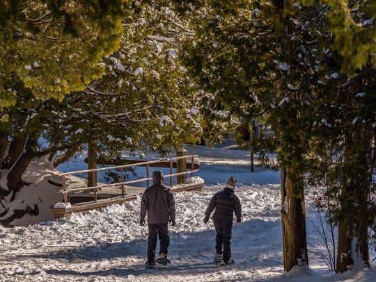 """Frosty Trail,"" by Bill Pohlmann."