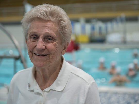 Coach Joyce Lindeman.