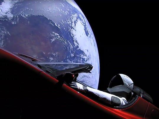 Space Man Park Your Car