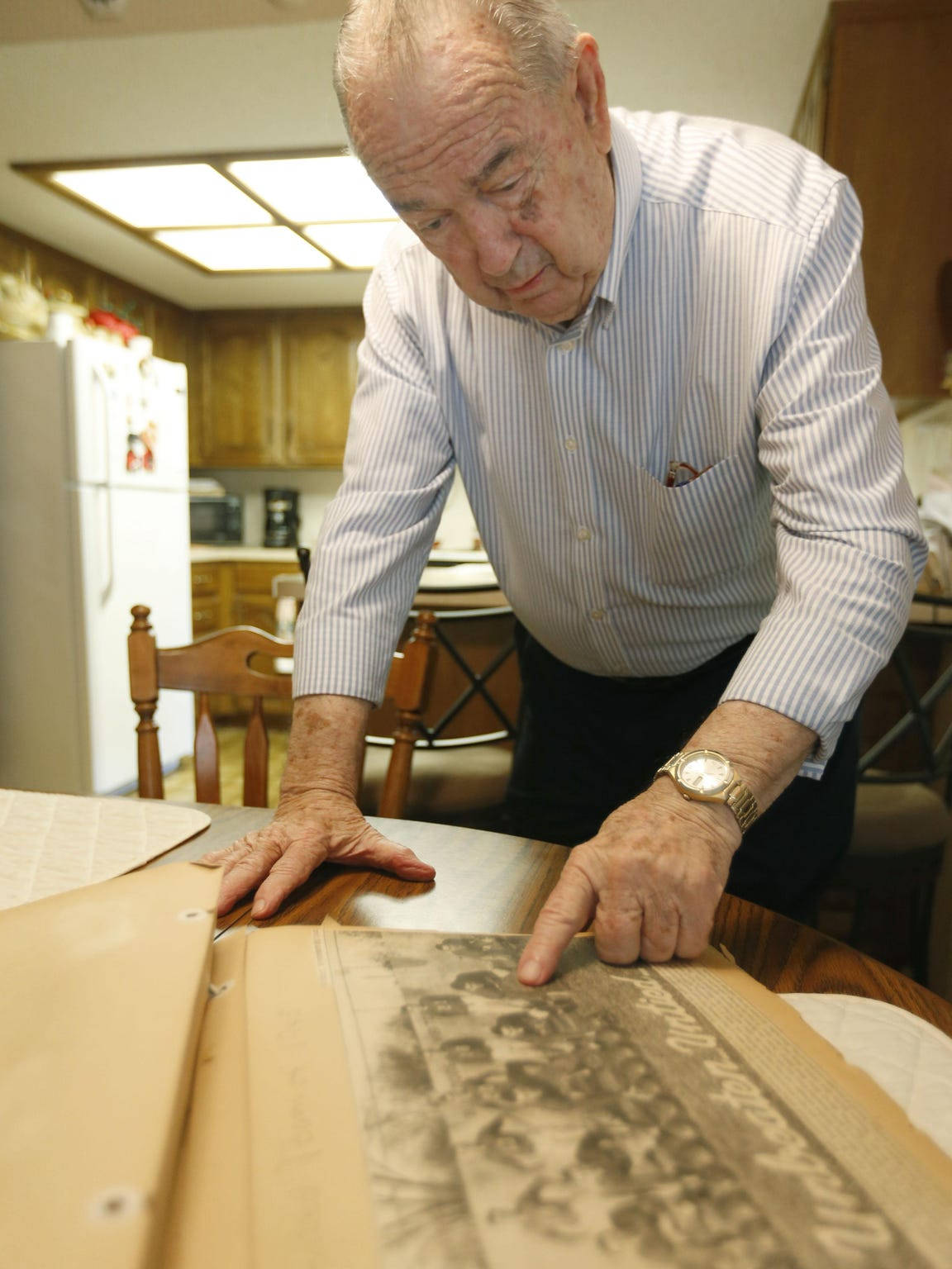 Gerald Jinks, 87, talks about the 1945 undefeated Springfield