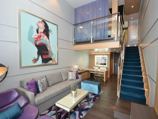 Exclusive first look at cabins on the largest cruise ship - Harmony of the seas interior rooms ...