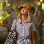 """Emma Stone stars in Columbia Pictuers' """"Aloha,"""" also starring Bradley Cooper and Rachel McAdams.  HANDOUT ORG XMIT: Emma Stone (Finalized) [Via MerlinFTP Drop]"""