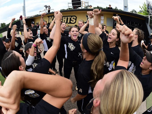UCF won 3-1 over rival USF in AAC Semifinals on May 8 UCF v. USF - American Athletic Conference Semifinals