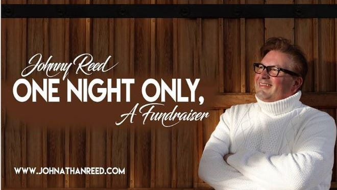 """""""Johnny Reed: One Night Only"""" will be presented Saturday, June 9, at the Stephens Performing Arts Center in San Angelo."""