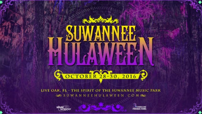 Hulaween is set for this weekend (Oct. 28-30) at the Spirit of the Suwannee Music Park in Live Oak, FL.