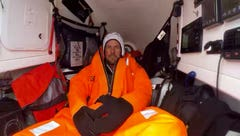 Mount Adams teacher rowing to England back on track after ocean storm
