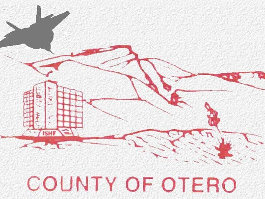 The current Otero County logo. Otero County Commissioners approved to let county staff initiate a contest with Otero County students to design a new logo at their Thursday, March 9 meeting.