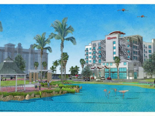 Hotel rendering, Marco Island