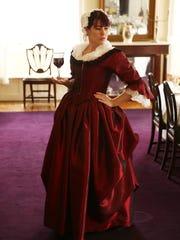 Emily Robinson, a historical presenter who portrays
