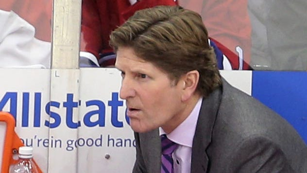 Red Wings coach Mike Babcock