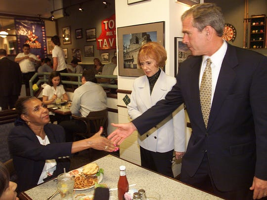 Then Texas Governor and Republican Presidential hopeful