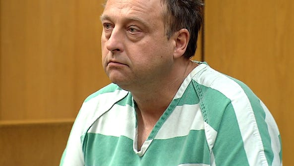 Conrad Sipa, 52, Colts Neck is shown during first appearance