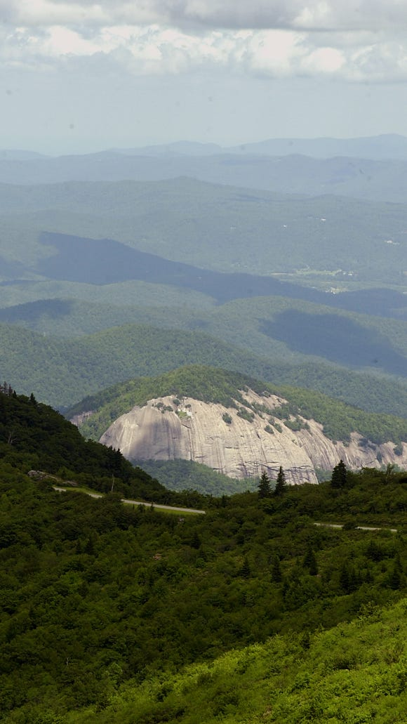 Blue Ridge Parkway rangers will lead a hike July 14, meeting at Looking Glass Rock.