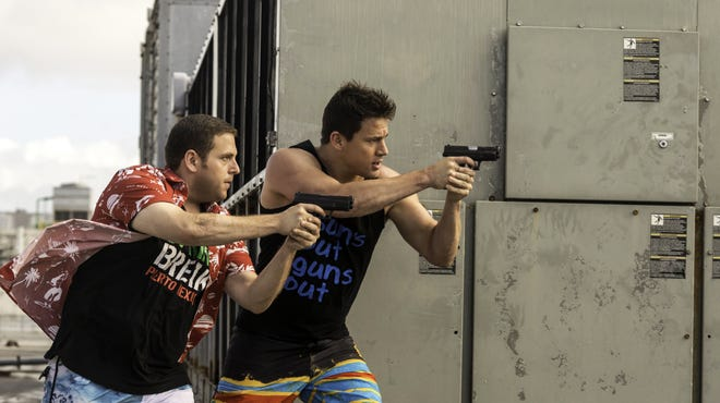 """Jonah Hill, left, and Channing Tatum are shown in """"22 Jump Street."""""""