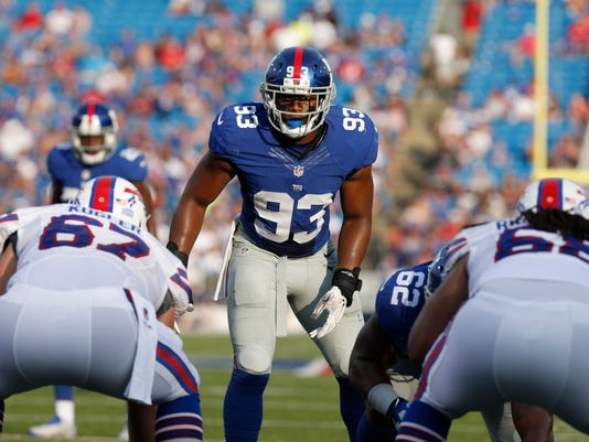 NFL: Preseason-New York Giants at Buffalo Bills
