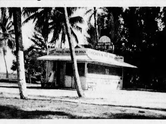 The Vivas house, on the southeast corner of Lee and Bay, would have faced the drive-in from across the street.