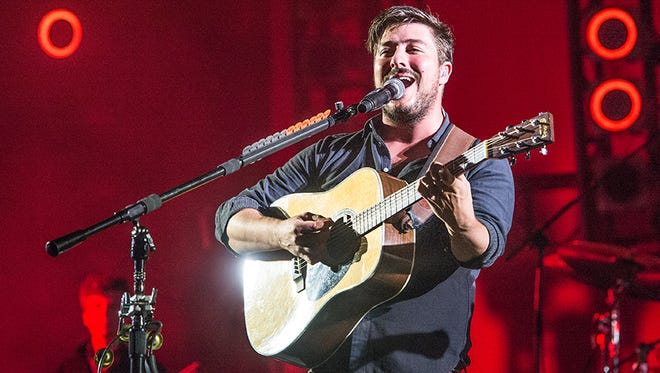 Marcus Mumford of Mumford & Sons performs at Austin City Limits Music Festival at Zilker Park on Sunday, Oct. 9, 2016, in Austin, Texas.