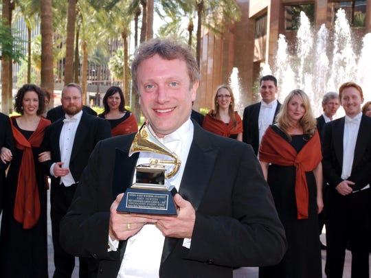 Conductor Charles Bruffy won his first Grammy Award