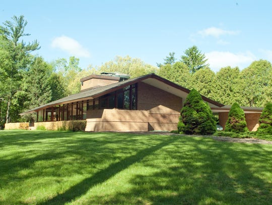 The Schaberg home was finished in 1958. The original