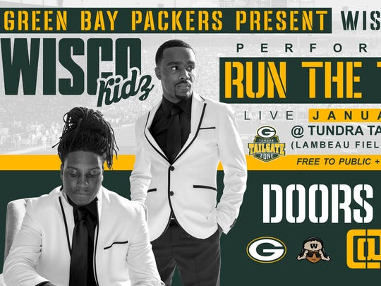 """Wisco Kidz will perform """"Run the Table"""" for Saturday's"""