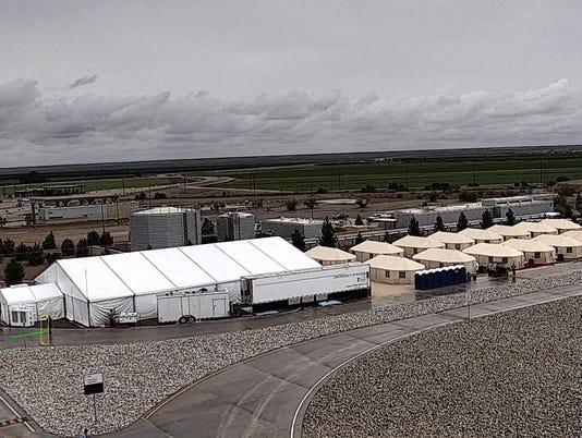 Tent City Tornillo