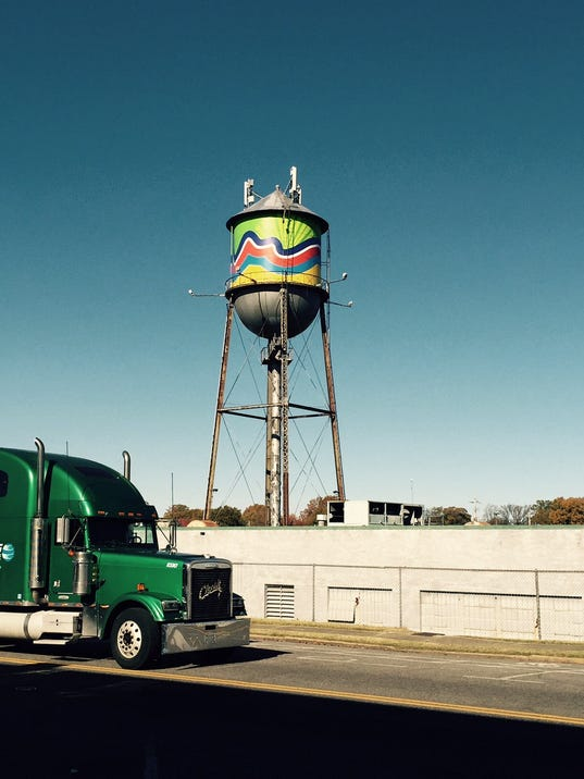 Broad Avenue Water Tower.JPG