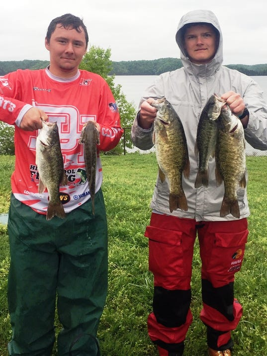 2017 nky all stars bass fishing for Fishing in cincinnati