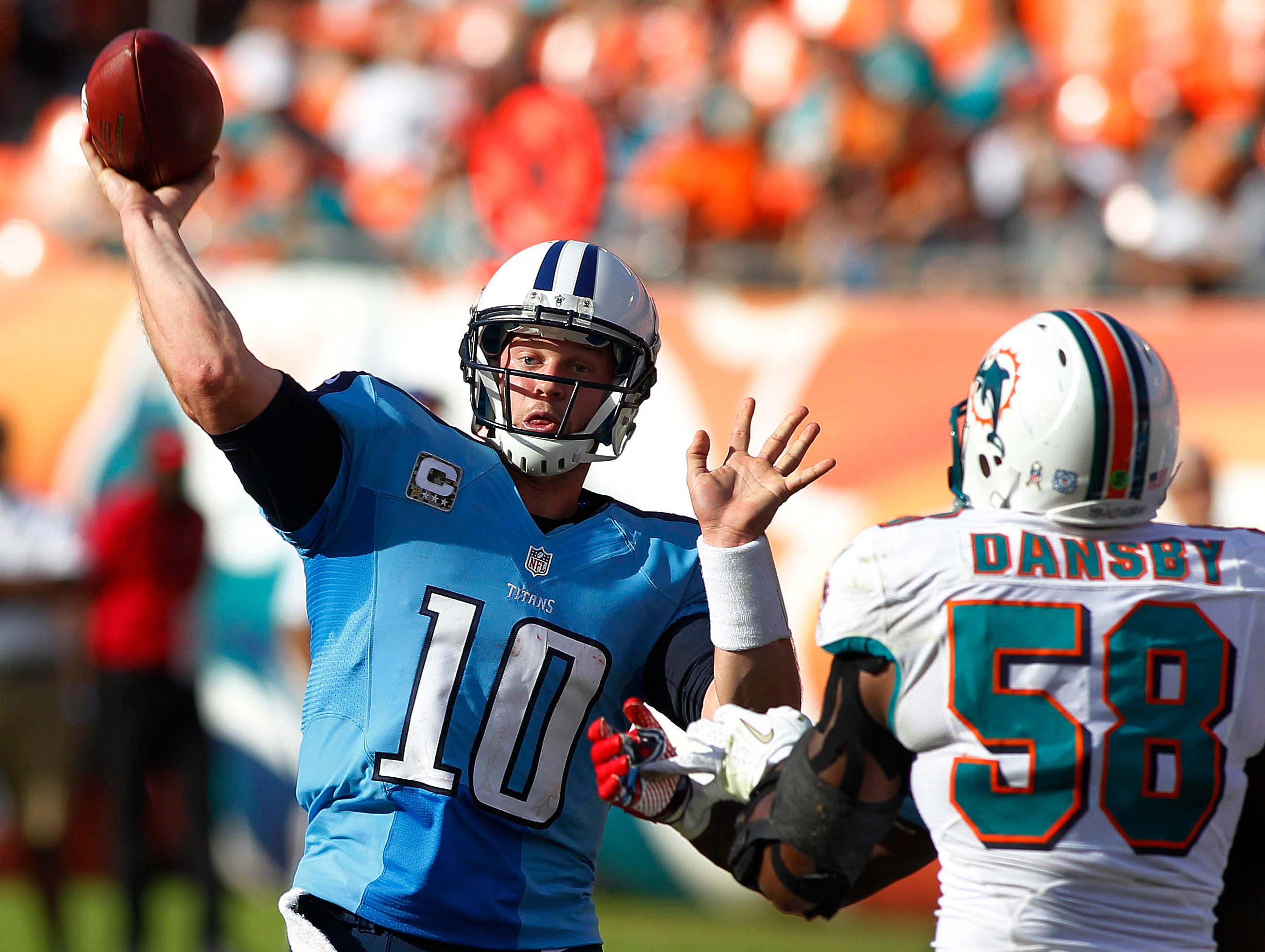 18. Jake Locker, Tennessee Titans