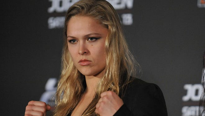 """Ronda Rousey says she is expecting the worst during the airing of """"The Ultimate Fighter 18"""" beginning Wednesday on Fox Sports 1"""