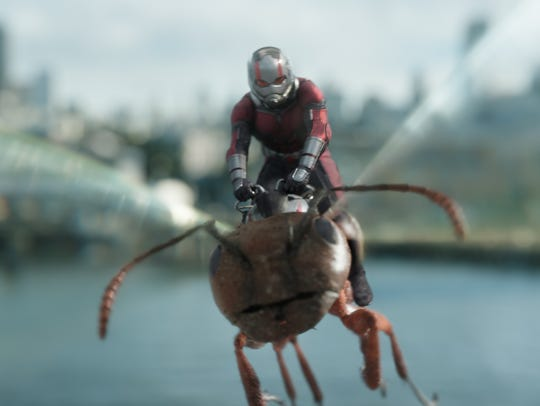 Paul Rudd as Ant-Man/Scott Lang in Marvel Studios'