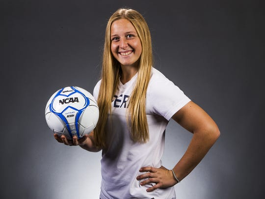 Gilbert Perry junior forward Amanda Dahl is a finalist for the azcentral.com Sports Awards Big Schools Girls Soccer Athlete of the Year award.