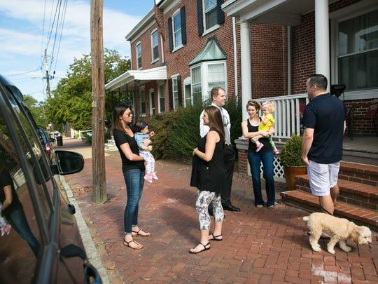 Residents of Wilmington's Forty Acres neighborhood