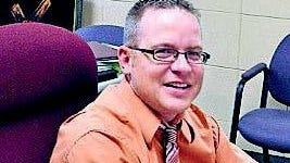 Randy Hodge, principal of St. Patrick Catholic School in Portland.