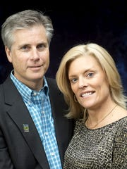 Guest speakers Jon and Lisa Blum, of York, are pictured here.