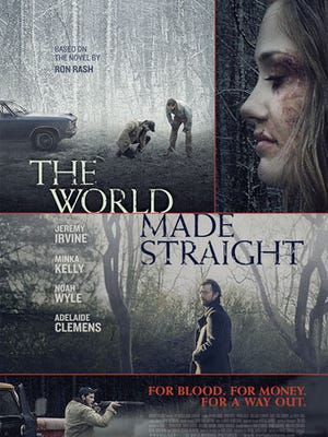 """The movie poster for """"The World Made Straight."""""""