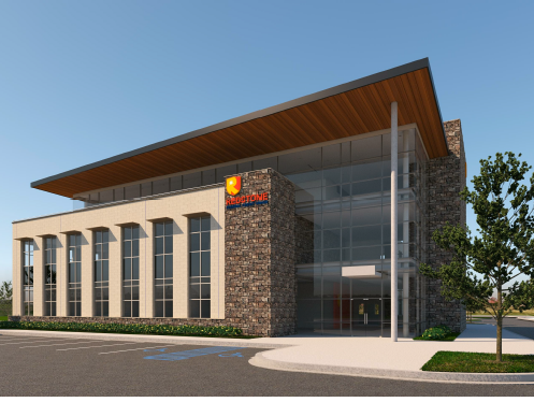Rendering for Redstone Federal Credit Union