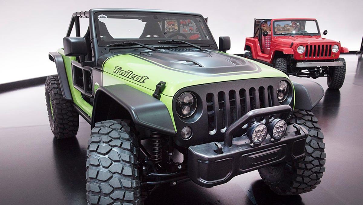 jeep unveils 7 concept suvs including 707 hp trailcat 7 concept suvs including 707 hp trailcat