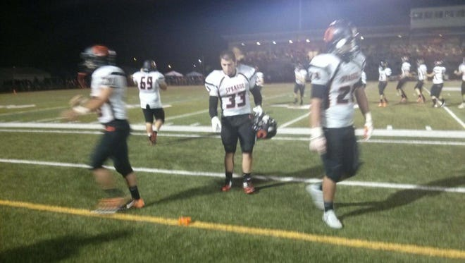 The Olys beat McMinnville 56-35 Friday, Sept. 19, 2014.