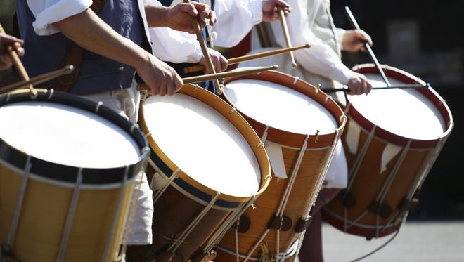 Stock photo of Drum Marching Band