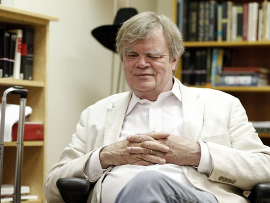 Garrison Keillor is shown in July 2015.