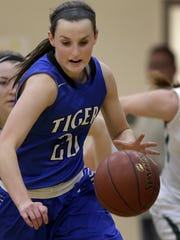 Wrightstown's Danielle Nennig scored 23 points in a North Eastern Conference win against Freedom on Friday.