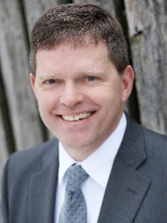 Erik Olson, former West Bend school superintendent.