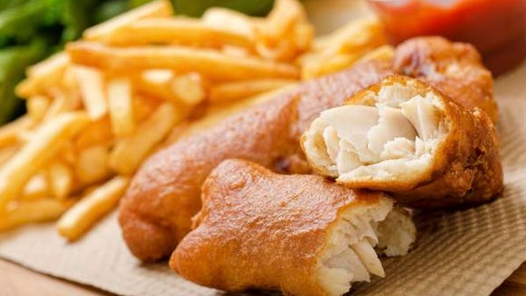 Fried fish can be found at some Delaware churches on Fridays during Lent