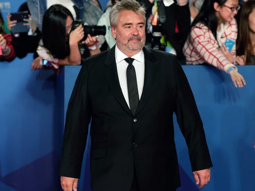 Luc Besson, 59, a French film director, was accused