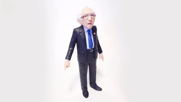 Bernie, the action figure.