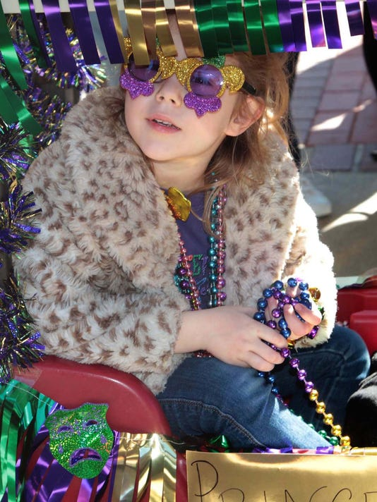 Mardi Gras Parade - at Jesus the Good Shepherd School